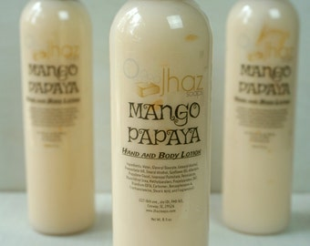 Mango Papaya Moisturizing Lotion - Fragrant Lotion - 8.5 oz