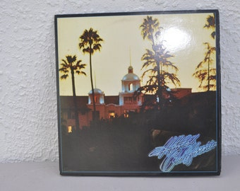 Eagles Hotel California 33 LP. With Poster