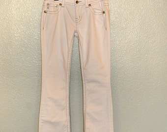 White Size 28 Miss Me Jeans