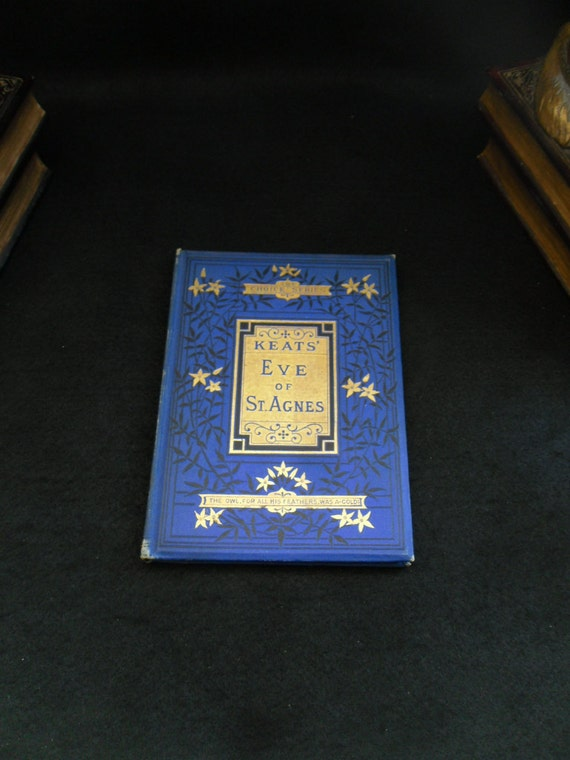 an analysis of the eve of st agnes by john keats Lamia, isabella, the eve of st agnes rare book for sale this first edition by john keats is available at bauman rare books.