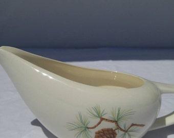 Universal Ballerina (?) Pine gravy boat
