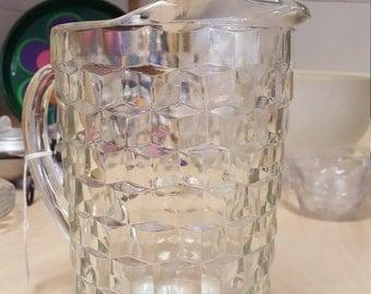 Whitehall Glass Pitcher