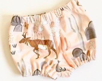 Baby Shorts, Organic baby bloomer, shorts,Organic cotton Shorts, baby clothing, girls clothing