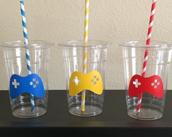 Video Game Party Cups