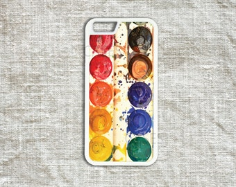 iPhone 6 6s Cases , iPhone 6 6s Plus Cover , iPhone 5 5s 5c 4 4s Cases - Watercolor Palette iPhone Cover