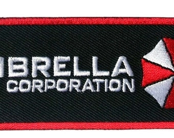 Resident Evil Umbrella Corp. Embroidered Chest [4 X 1.75 Inches]patch