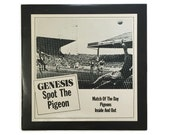 "Genesis, ""Spot the Pigeon"", vinyl record album, classic rock EP, 1970s, prog, phil collins, blue vinyl"