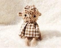 Kawaii Squishies Plush Sheep Ooak Lamb Stuffed Animal Toy - Eco Friendly Toy - Plush Gift - Cute Plush - Lamb Doll - Stuffed Doll Fairy Tale