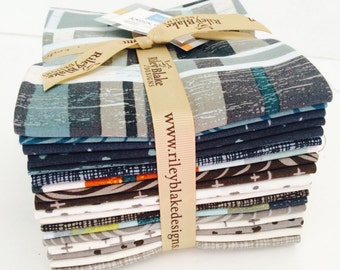 Fat Quarter Bundle Knock on Wood by Deena Rutter for Riley Blake Designs - 18 Fabrics