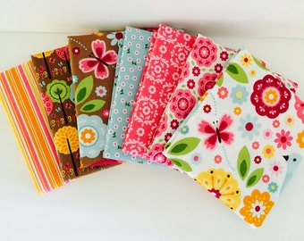 1/2 Yard Bundle Summer Song 2 by Zoe Pearn for Riley Blake Designs 7 Fabrics