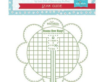 Seam Guide Bee In My Bonnet by Lori Holt For Riley Blake Designs Green