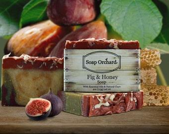 Natural Soap - Fig & Honey Bar