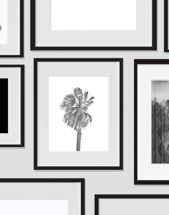 Items similar to wall print art palm tree art printable for Minimalist wall art