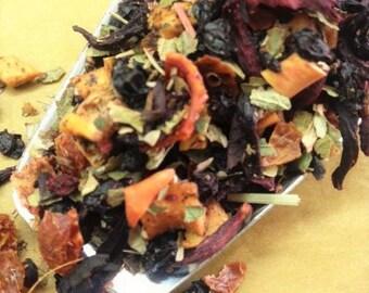 The Red Garden tea blend 100gr. forest fruit combination