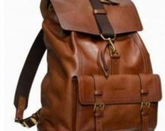 Gerano Leather Backpack