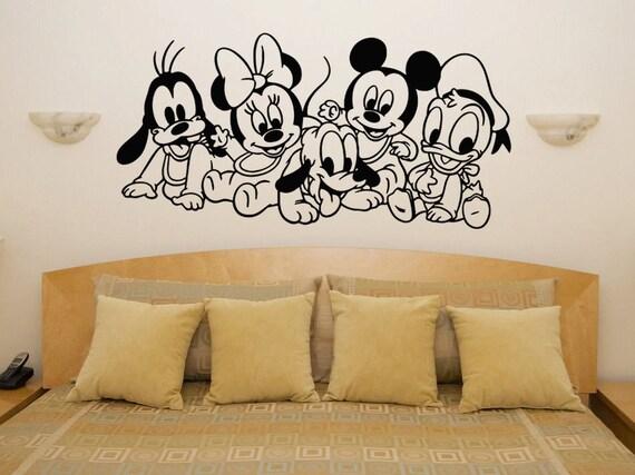 Baby Disney Characters Baby Nursery Room Kids Play Room