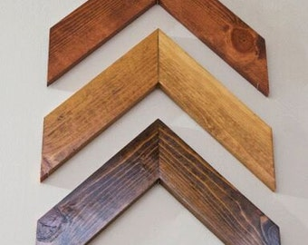 Decorative Rustic Wood Chevron Arrows; Chevron Home Decor; Wood Arrow Wall Art; Chevron Decor; Wood Arrow Wall Art; Wooden Wall Arrows;