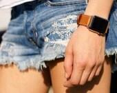 Apple Watch Strap, Leather Apple Watch Strap, Horween Leather Apple Watch Strap, IWatch Band