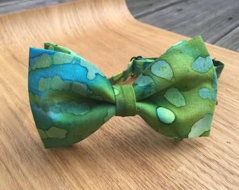 Bow tie, Boys Bow tie, Green Bow Tie, Blue Bow Tie