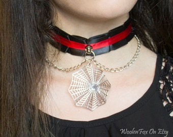 12 Inches - Black Widow Collar