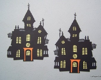 Haunted house die cuts
