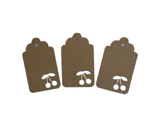 Cherry Gift Tags