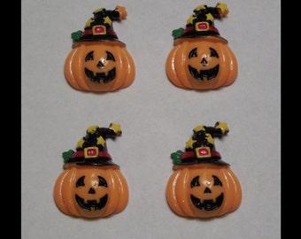 Halloween Pumpkin set of 4