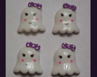 Girly Ghost set of 4