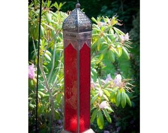Bemousse Red Marrakech Lantern
