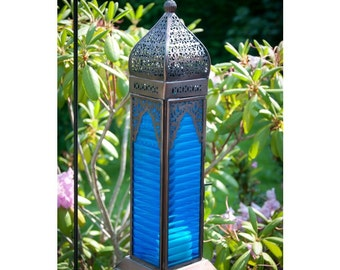 Paradise Blue Marrakech Lantern
