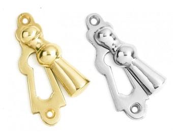 Thirlwall Escutcheons Polished Brass