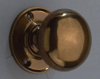 Round Knob Bronze