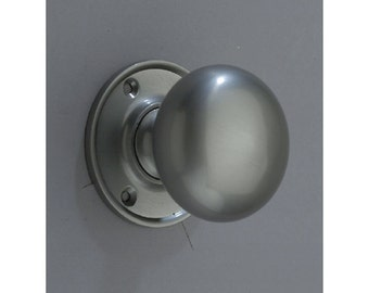 Round Knob Brushed Nickel