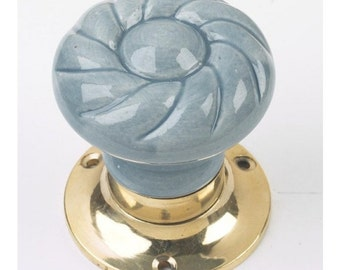 Storm Clouds Door Knobs Version 30