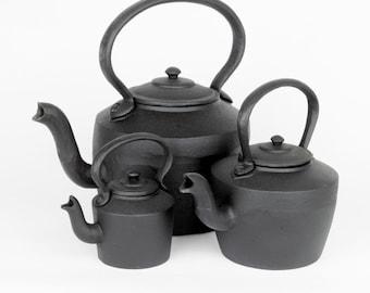 Rustic Cast Iron Kettle (Decorative Purposes)