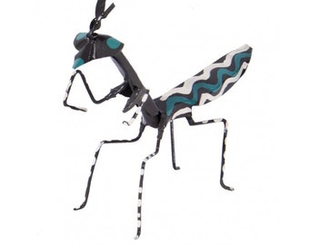 Tambaa Hand Painted Praying Mantis