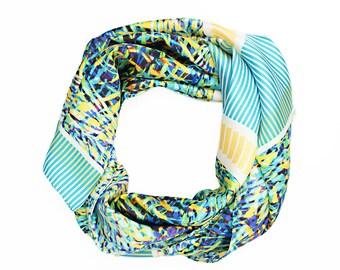 Silk Scarf / Eco Friendly Scarf / Colourful Scarf / Winter Scarf / Scarves and Wraps / Women's Scarf / Summer Scarf / Alchemy Silk Scarf