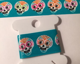 Halloween, Skull, Day of the Dead, Día de Muertos Washi Tape Sample