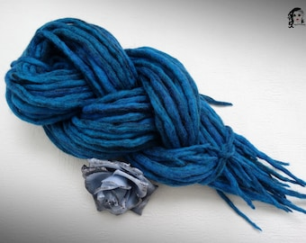 "Wool Dreadlocks Dreads "" Precious Turquoise "" DE"
