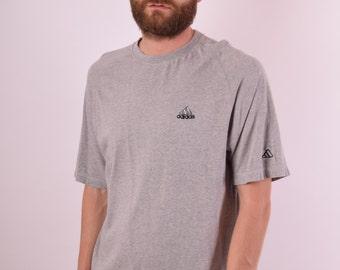 Vintage Adidas T-shirt Size M (509)