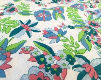German 50s fabric 50 x 85: Rockabellas flowers