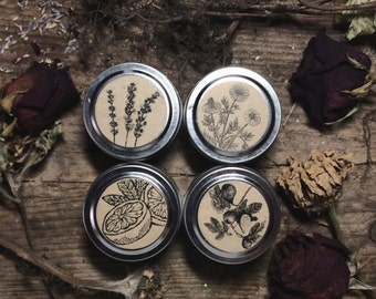 Pick four 2oz Travel Tin Gift Set Soy Candle Travel Candles Artisanal Small Batch Hand Poured in New England Soy Candle Twin Pack