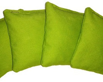 Lime Green Cornhole Bean Bags Money Back Guarantee