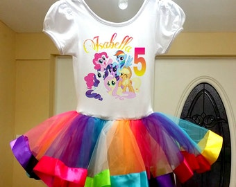 My Little Pony tutu dress