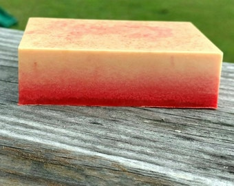 Tropical Sunset- Shea and Mango Butter Soap