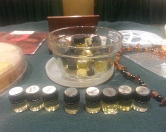 Witch's Magickal OIL INFUSIONS (Pagan Wiccan witch witchcraft enchantment spells hexes witch's flying ointment herbs)