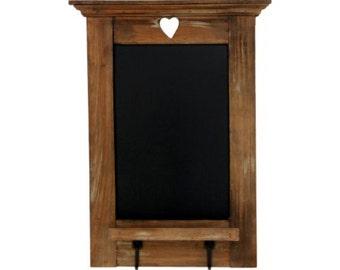Driftwood Blackboard with Hooks. Chalkboard. Driftwood. PAH035