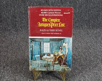 The Complete Antiques Price List Fifth Edition By Kovel C. 1972