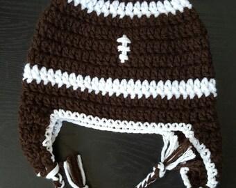 Children's Football Earflap Hat