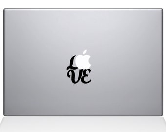 Hand Lettered Love Macbook Decal (2340-MAC)